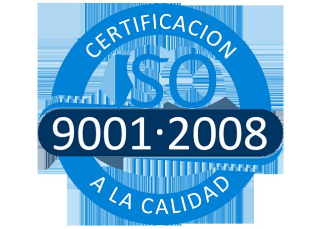 Certificado de calidad alinatur
